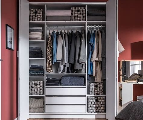 De Clutter Week 1 Wardrobe